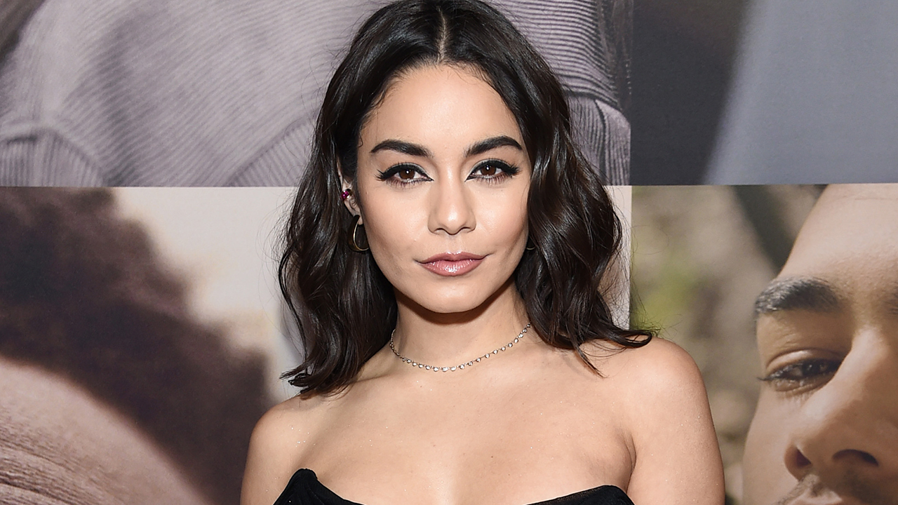 Vanessa Hudgens wows in busty jumpsuit at Broadway premiere