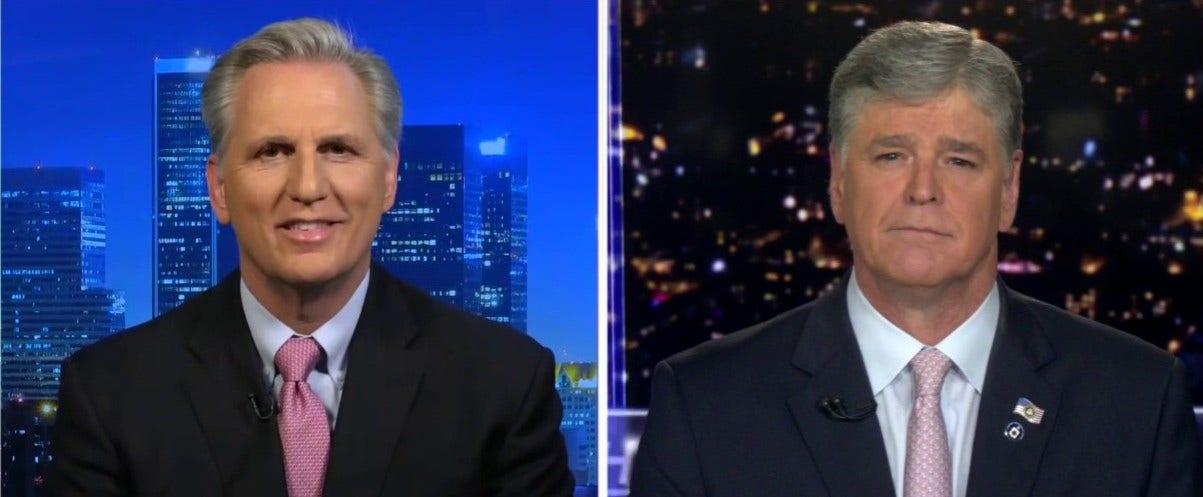 McCarthy σχίζει Πελόζι, λέει Δημοκράτες ήταν
