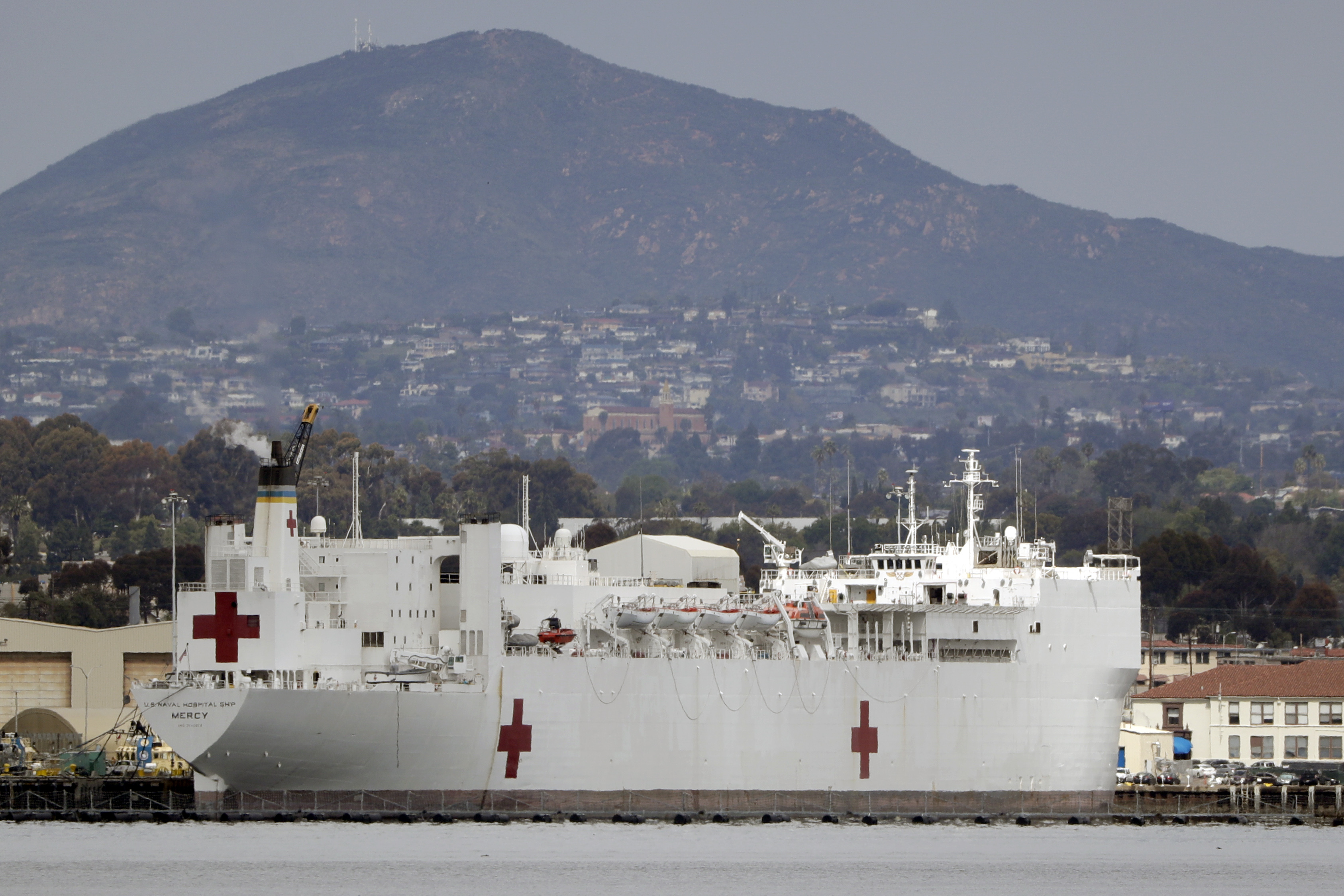 Νοσοκομείο πλοίο, USNS Έλεος να το κεφάλι για το Σιάτλ στις δευτέρα, ΜΑΣ άμυνα αξιωματούχοι λένε