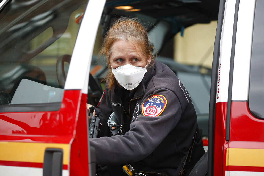 NYC coronavirus korban tewas puncak 1,000