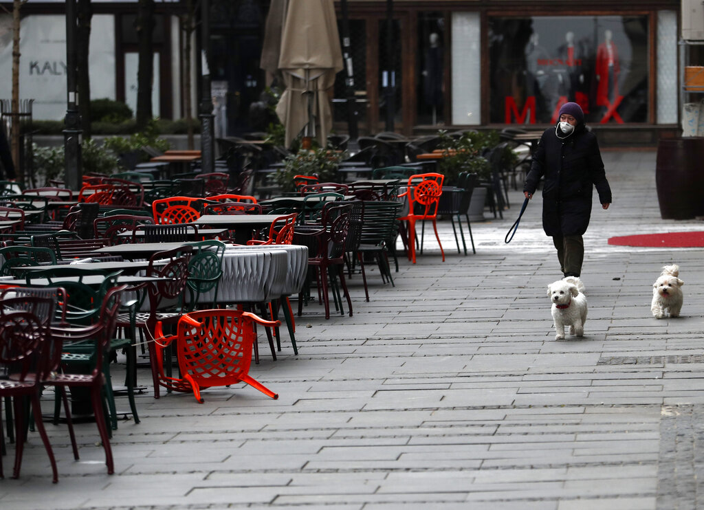 Serbia's dog walking ban sparks outrage among pet owners