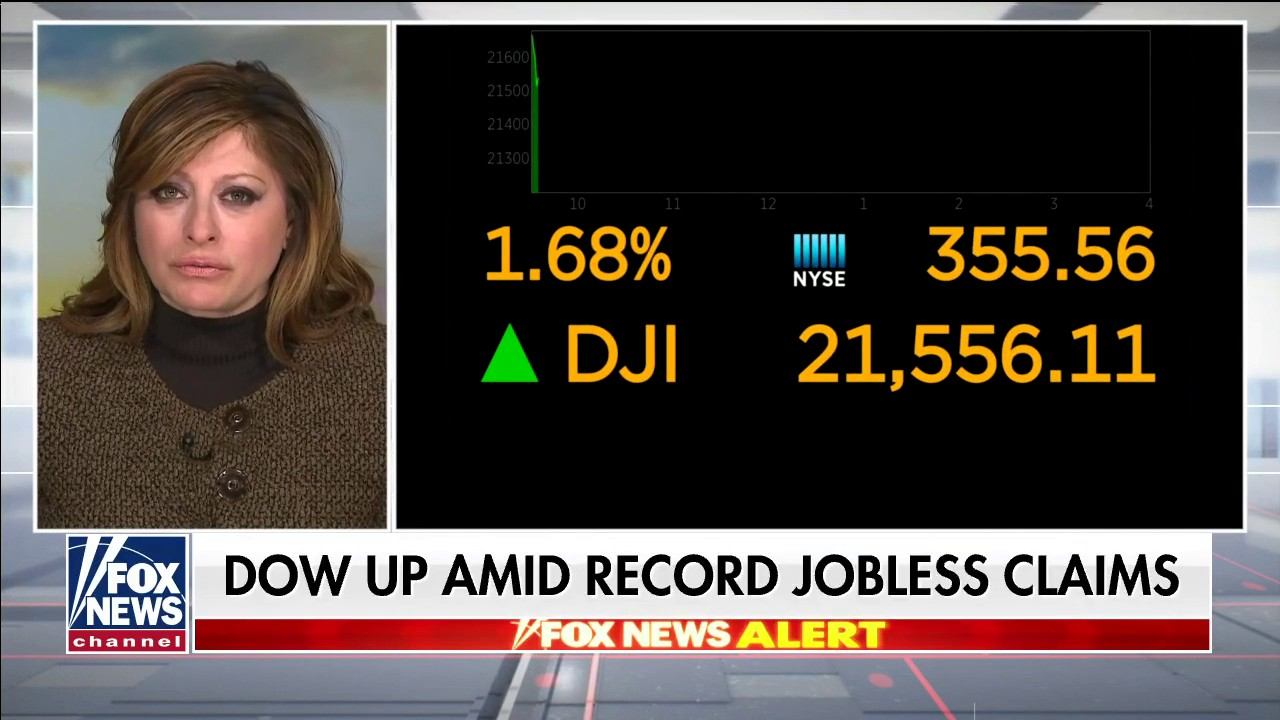 Westlake Legal Group Bartiromo-326- Maria Bartiromo on jobless claims spiking to record-high as coronavirus shuts down economy Talia Kaplan fox-news/us/economy fox-news/shows/americas-newsroom fox-news/media/fox-news-flash fox-news/health/infectious-disease/coronavirus fox news fnc/media fnc f878ea5f-2f3d-598d-914b-9f2d844c160b article
