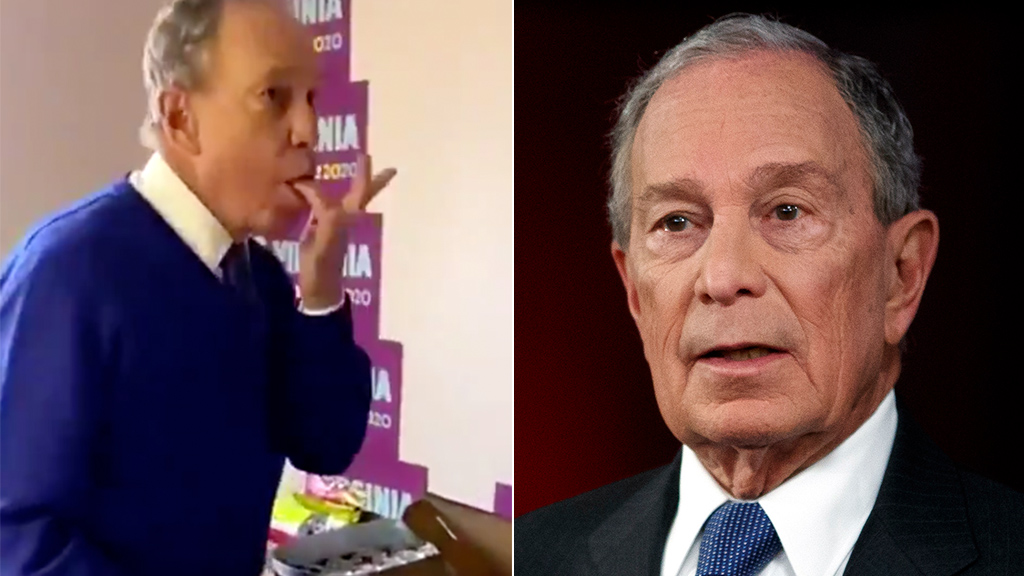 Mike Bloomberg grosses out Twitter amid coronavirus with video of him licking fingers while eating pizza