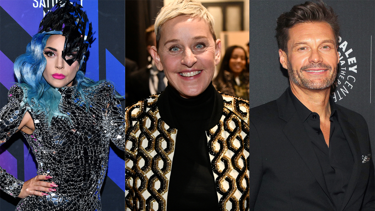 Lady Gaga, Ellen DeGeneres, Ryan Seacrest join-FOX-Konzert Spezial