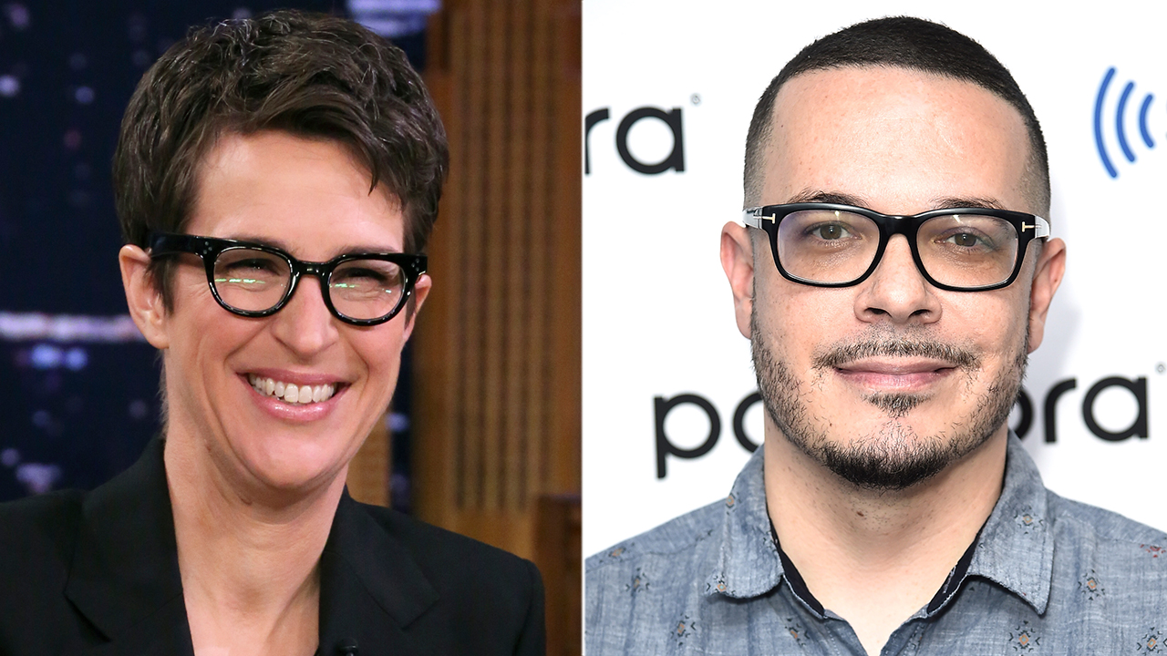 MSNBC's Rachel Maddow, liberal activist Shaun King spar on Twitter - Fox News