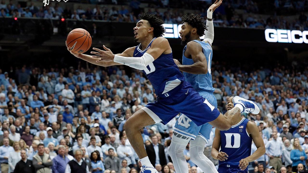 Herzog sophomore point guard Tre Jones erklärt für den NBA-Draft