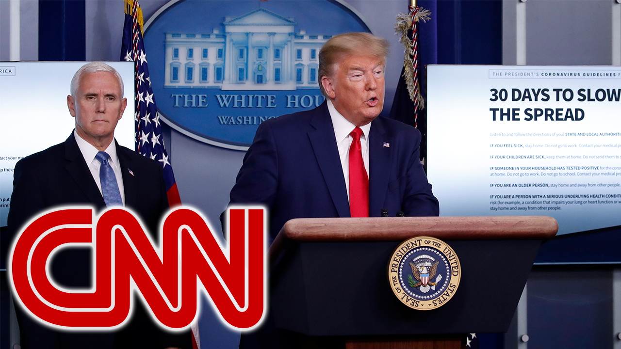 CNN faces backlash for skipping Trump's initial remarks at White House coronavirus briefing - Fox News 31
