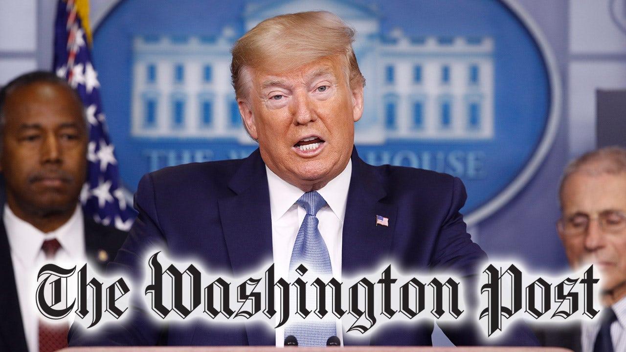 Washington Post Medien-Kolumnist fordert Netzwerken zu stoppen lüften Trump 's