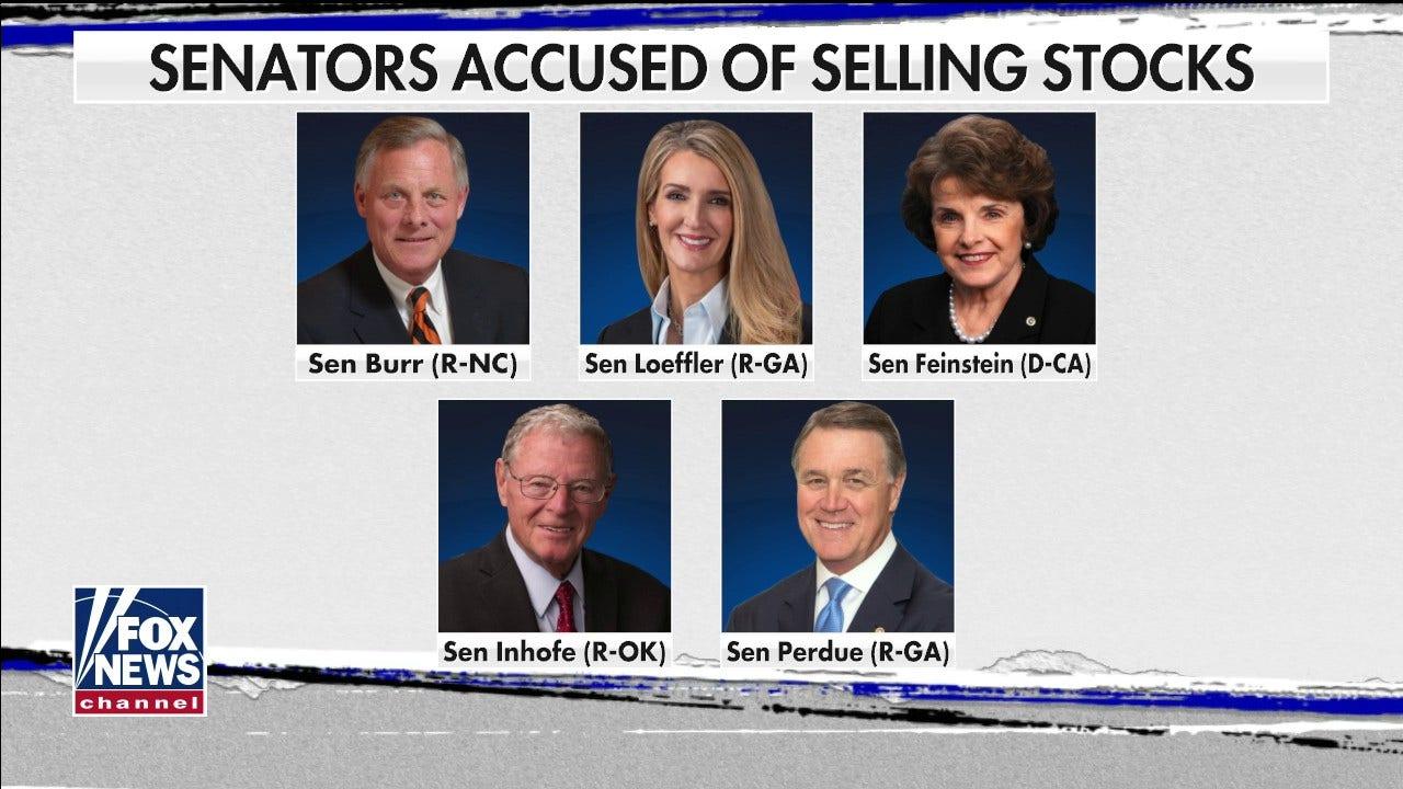 Sen. Kennedy: Insider-trading-Ansprüche gegen Senatoren