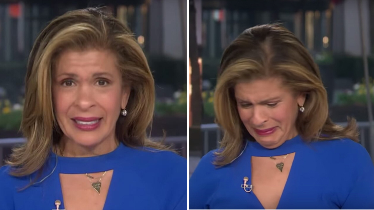 Photo of Hoda Kotb breaks down in tears during coronavirus interview with New Orleans quarterback Drew Brees | Fox News