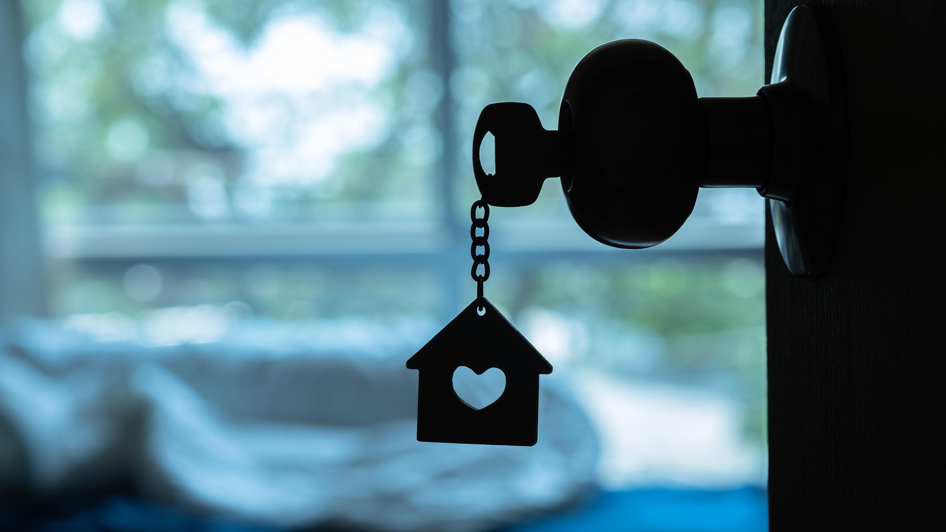 Immobilien-Makler-Schalter virtuellen offenen Häuser inmitten der Corona-Virus-Ausbruch