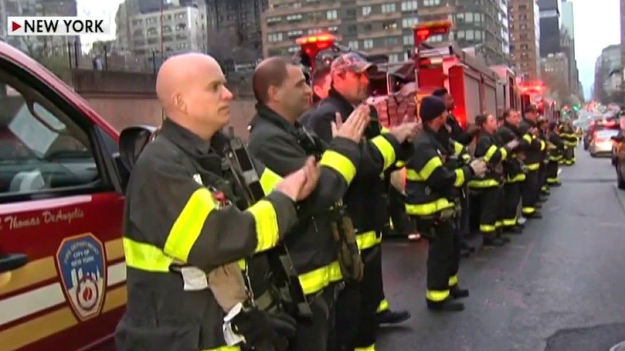 Petugas pemadam kebakaran letnan menjelaskan FDNY salut untuk para pekerja perawatan kesehatan: 'Kami semua ingin menunjukkan apresiasi kami'
