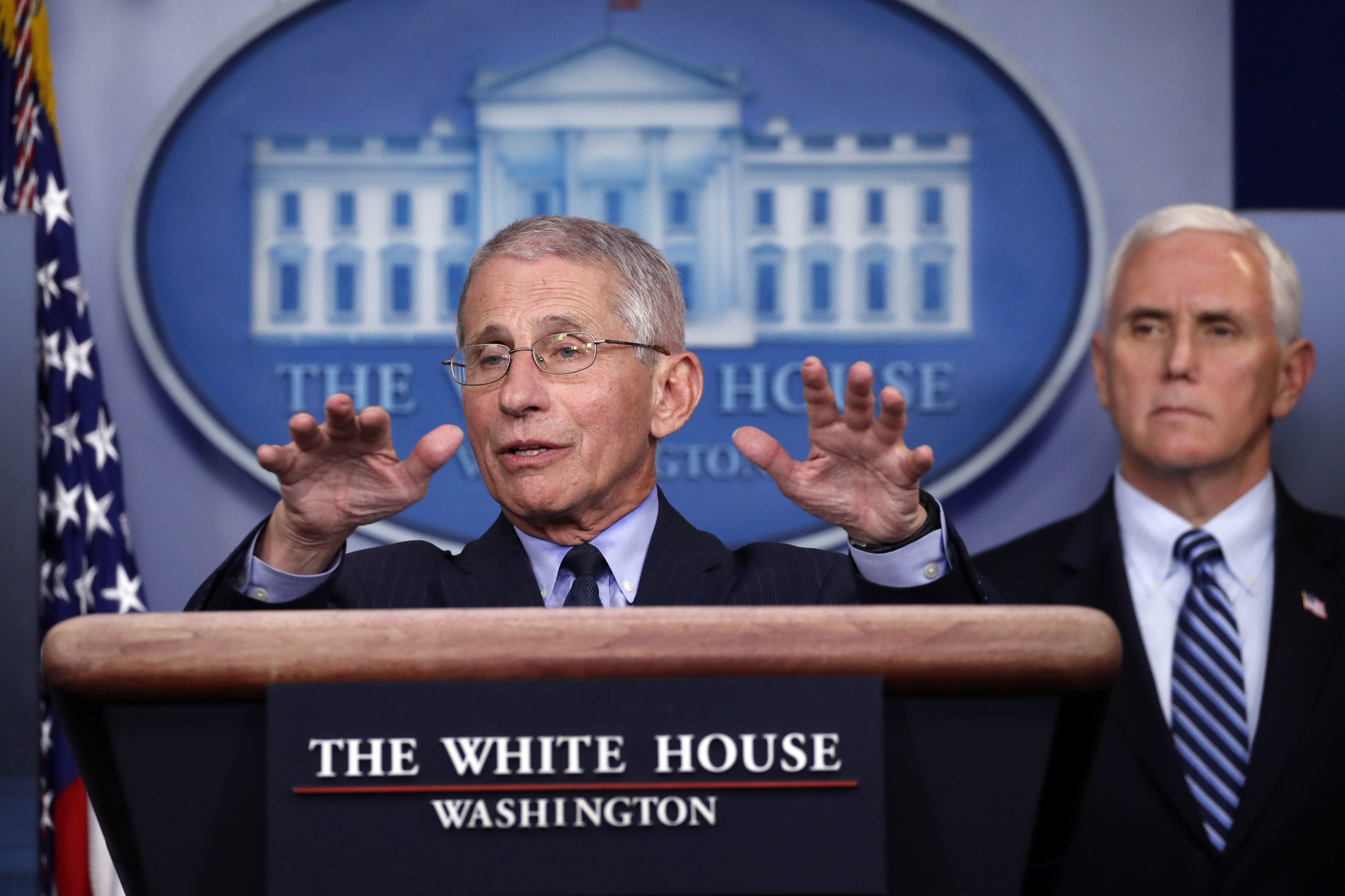 Top US coronavirus expert Dr. Fauci responds to added security detail after threats: 'I've chosen this life'