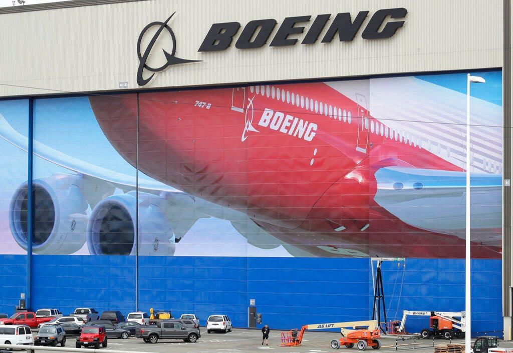 Boeing να επεκτείνει Σιάτλ-περιοχή παραγωγής τερματισμού ανάμεσα σε coronavirus