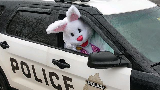 Easter Bunny is social distancing this year, but still making appearances - fox