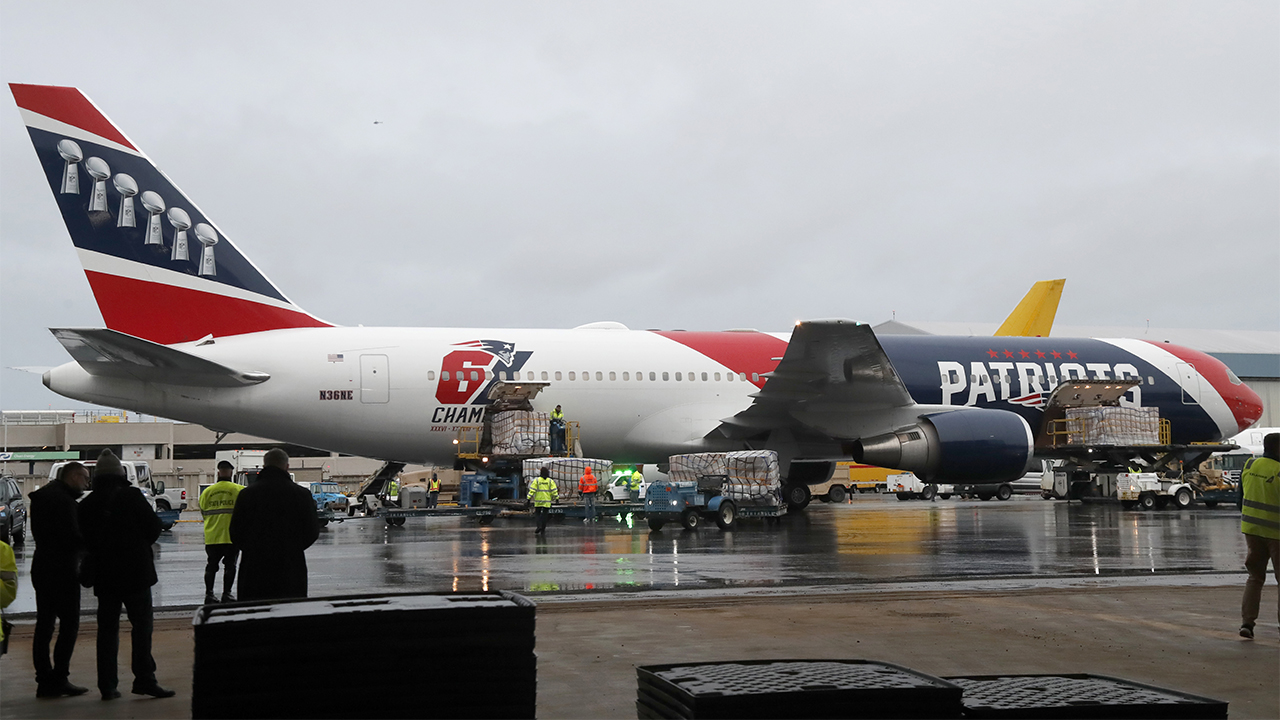 Patriots Plane AP 2