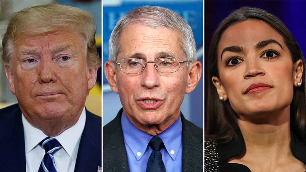 Trump jokes Dr. Fauci should move to New York to run against AOC - fox