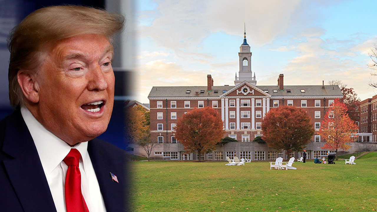Harvard won't 'seek or accept' federal stimulus money after calls from Trump to return cash | Fox News