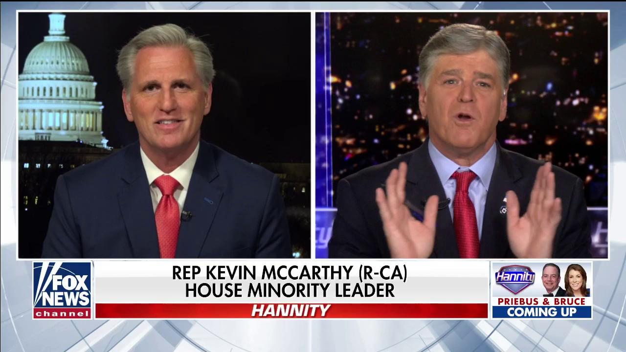 Westlake Legal Group Video-2020-04-03T221039.724 McCarthy blasts Pelosi over unemployment spike: 'She needs to be focused on helping' fox-news/us/economy/jobs fox-news/us/economy fox-news/shows/hannity fox-news/politics/house-of-representatives/leadership fox-news/person/nancy-pelosi fox-news/person/kevin-mccarthy fox-news/media/fox-news-flash fox-news/media fox-news/health/infectious-disease/coronavirus fox news fnc/media fnc Charles Creitz article 9358401f-19e1-59a9-a248-dd2d498107a9