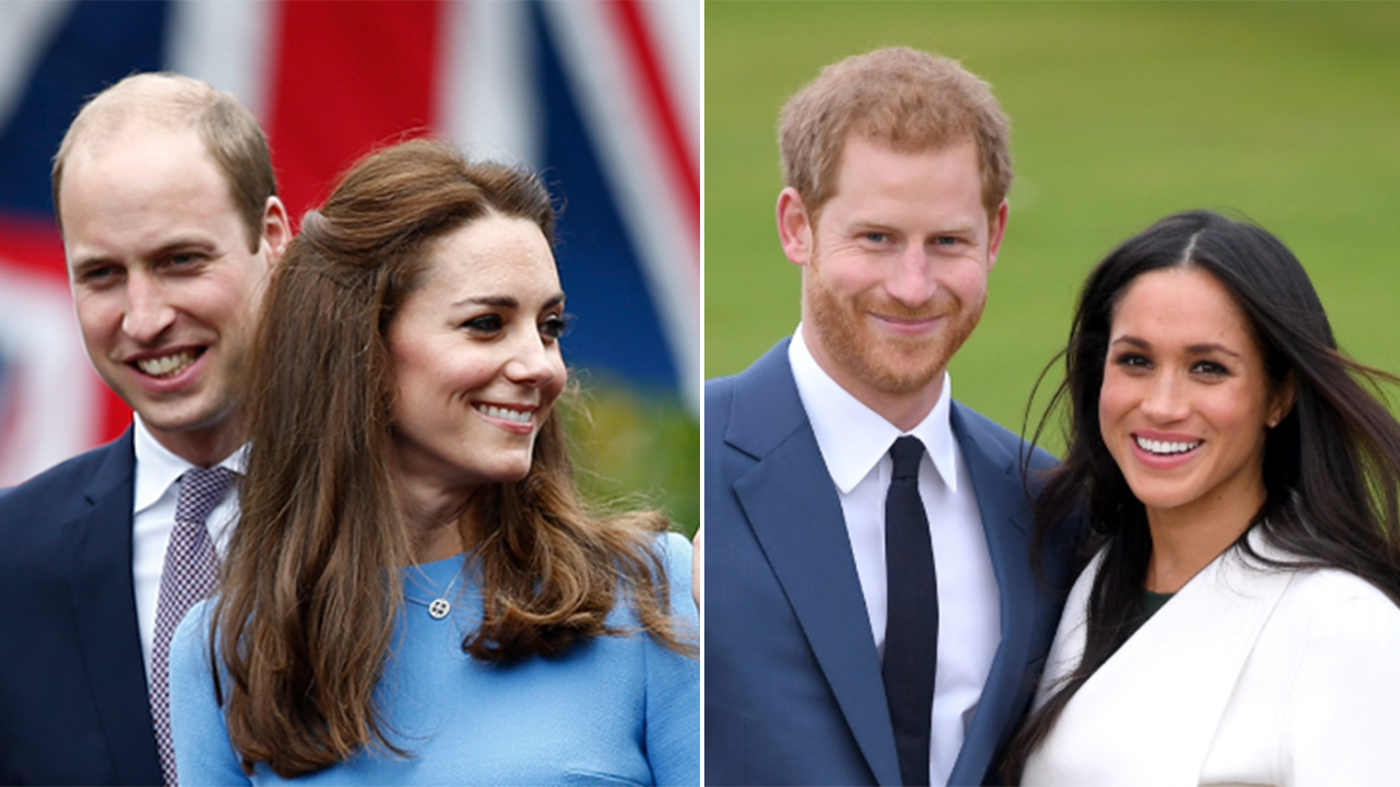 Prince William, Kate Middleton snag Prince Harry, Meghan Markle