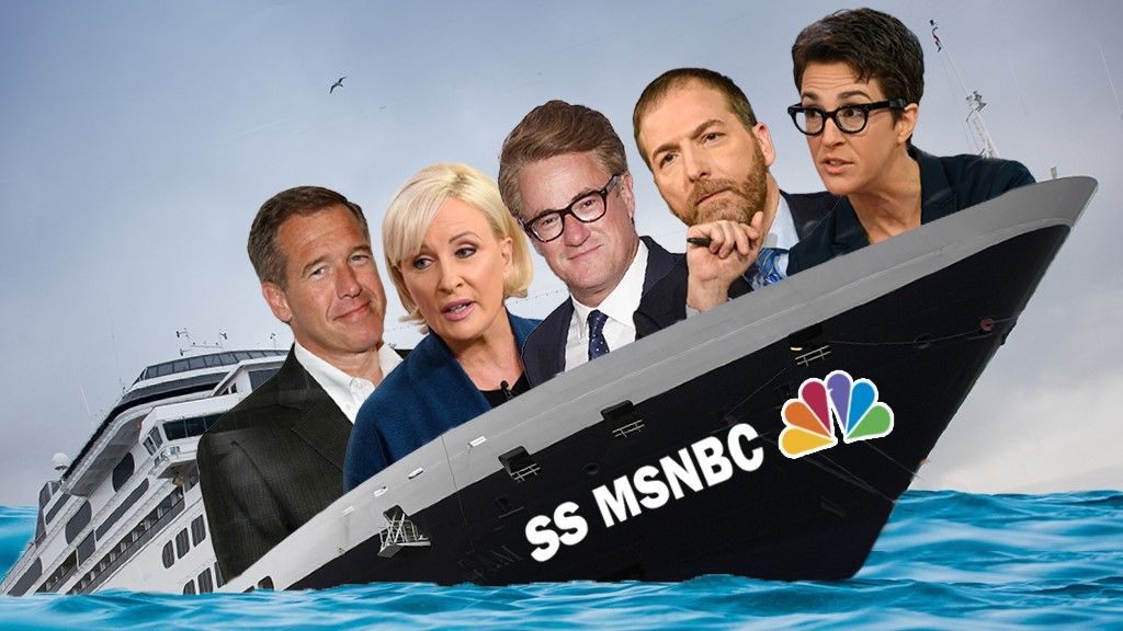 MSNBC treads water during jam-packed news quarter, fails to add viewers