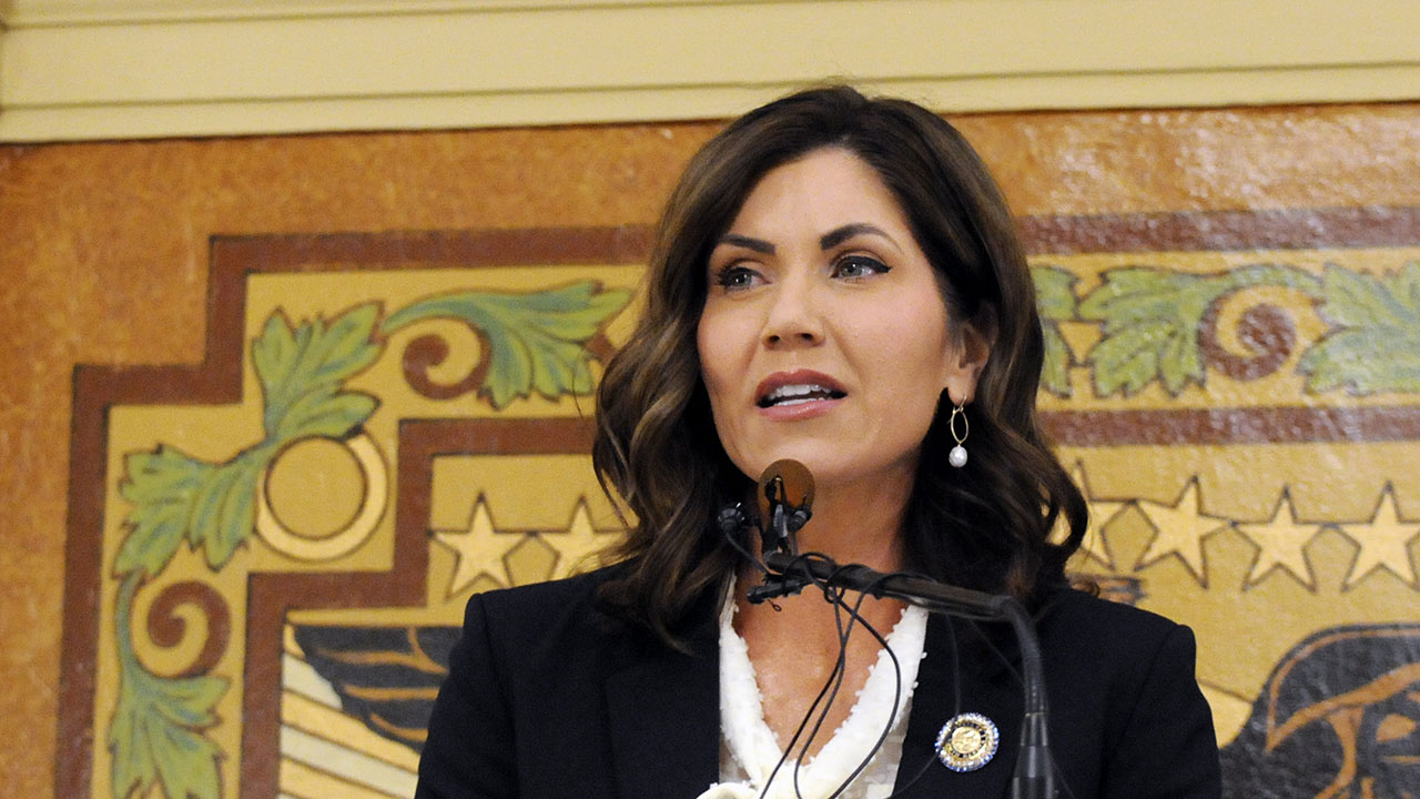 South Dakota Gov. Noem clashes with Sioux tribes...