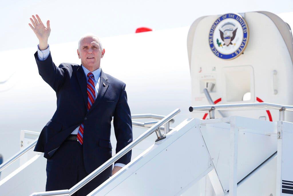 Pence postpones Florida, Arizona campaign events amid increase in coronavirus cases there thumbnail