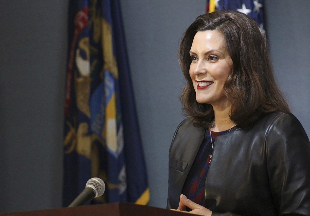 Michigan Gov. Whitmer declares racism