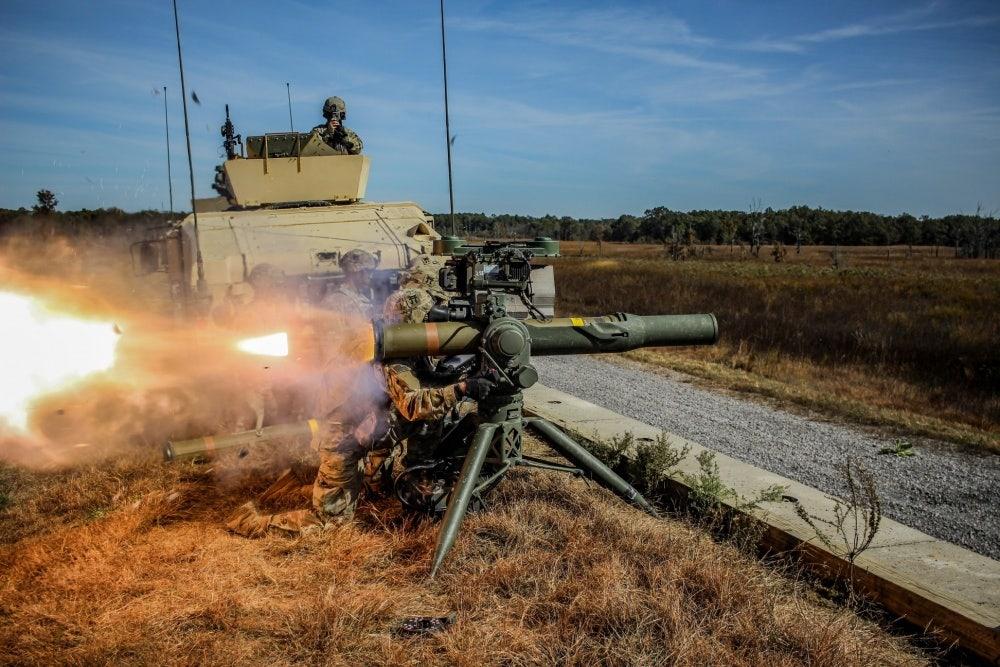 Army builds new 18.6-mile-range tank-killing weapon thumbnail
