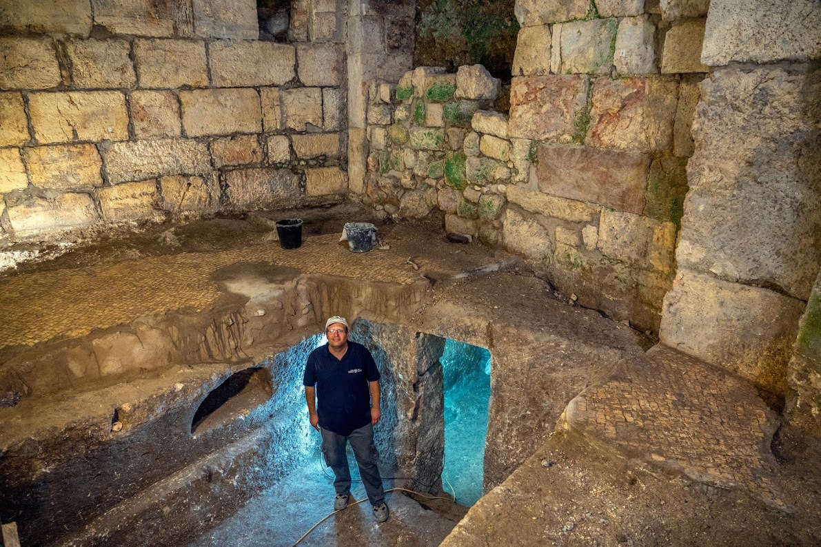 Hidden underground chambers discovered near Western Wall in Jerusalem