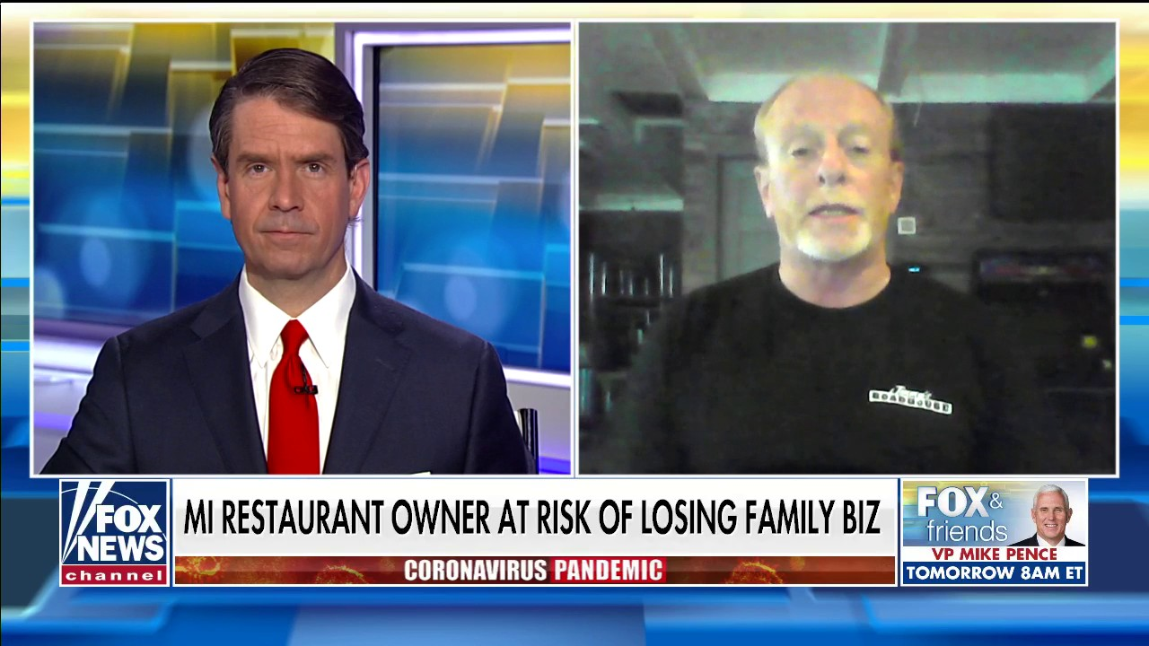 Westlake Legal Group Michigan-restaurant-owner- Michigan restaurant owner defies Gov. Whitmer's order in last-ditch effort to save family business Talia Kaplan fox-news/us/us-regions/midwest/michigan fox-news/us/economy fox-news/media/fox-news-flash fox-news/health/infectious-disease/coronavirus fox-news/food-drink fox news fnc/media fnc article 521a9468-4d3b-50ba-82e8-3c7e3dc123c3