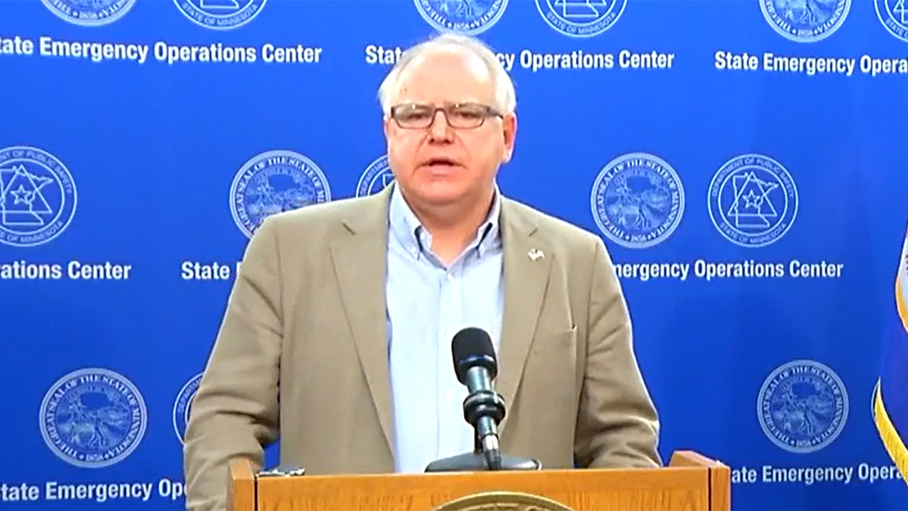 Minnesota Gov. Walz asks Trump for disaster declaration after George Floyd riots trigger over $500M in damages