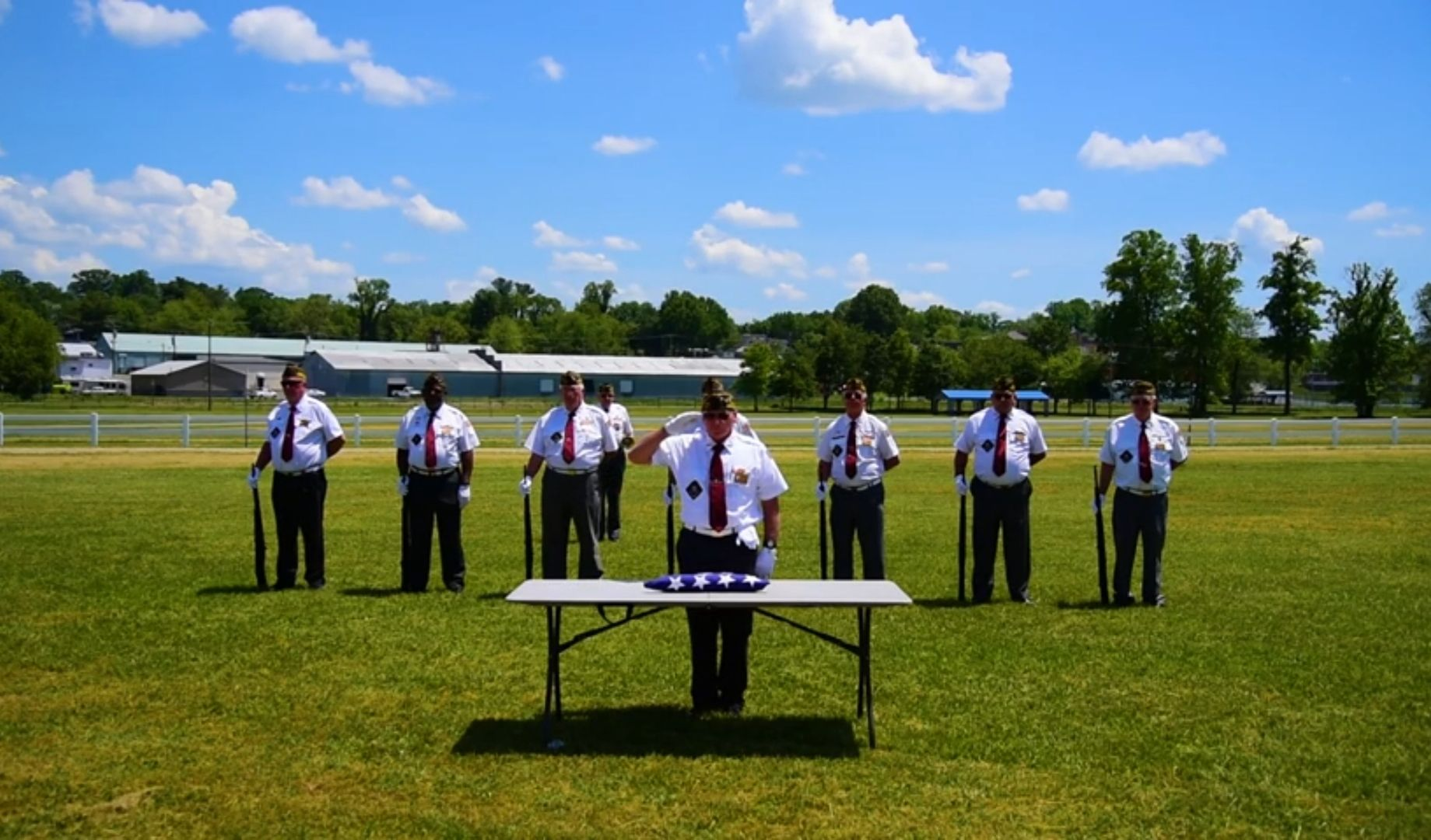 North Carolina veterans make video for those who can't receive military funeral honor guard during coronavirus