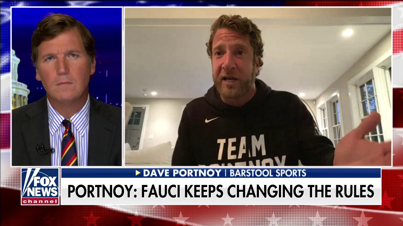 Barstool Sports founder Portnoy says 'I don't trust' Fauci: 'He's on differentsides depending on the day'