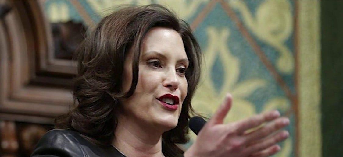 Gov. Whitmer calls on Michigan state legislature to repeal anti-abortion law