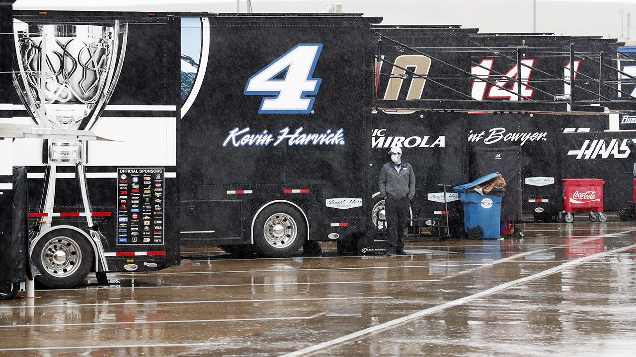 NASCAR's Wednesday night Charlotte race rained out, moved to Thursday