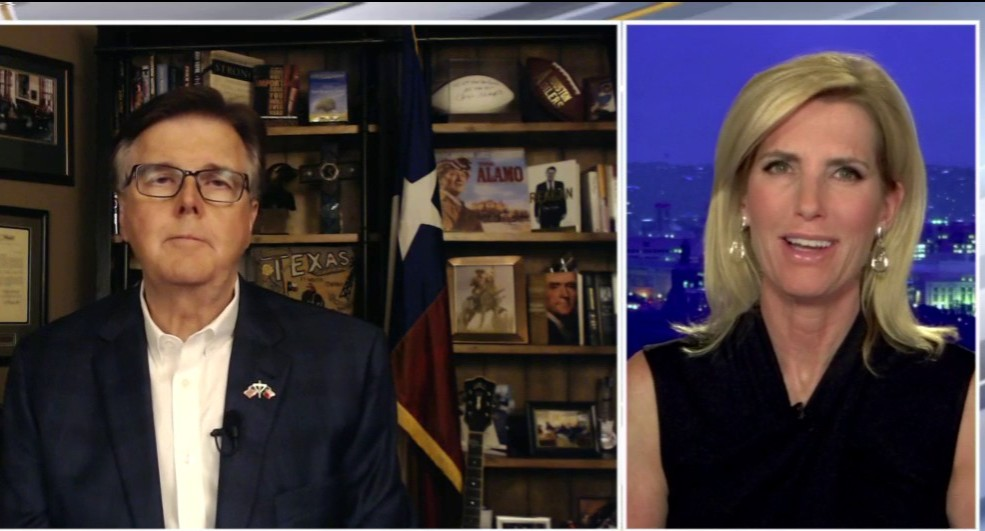 Texas Lt. Gov. Patrick bashes Twitter, Dems over mail-in voting: 'If they get it, it's the end of democracy' thumbnail