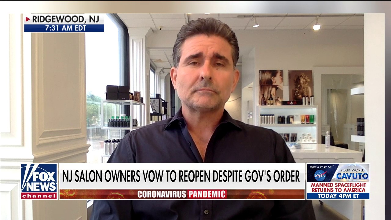Westlake Legal Group salon-owner-use New Jersey salon owners plan to reopen June 1 despite governor's order: 'It's cometo a breaking point' Talia Kaplan fox-news/us/us-regions/northeast/new-jersey fox-news/us/personal-freedoms/america-together fox-news/shows/fox-friends fox-news/media/fox-news-flash fox-news/health/infectious-disease/coronavirus fox news fnc/media fnc cb81b780-b87f-5ea4-bb15-292da1aee925 article