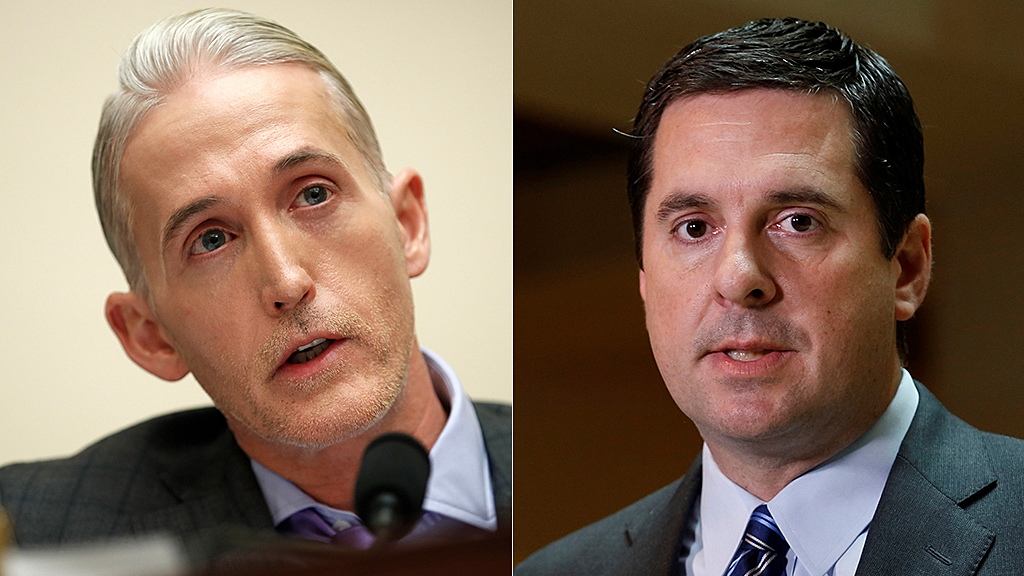 Westlake Legal Group trey-gowdy-devin-nunes-AP Devin Nunes tells Trey Gowdy why he believes the Mueller probe was on 'thin ice' from the start fox-news/topic/durham-probe fox-news/person/james-comey fox-news/person/devin-nunes fox-news/news-events/russia-investigation fox-news/media/fox-news-flash fox news fnc/media fnc David Montanaro article 70dd8cc2-c4df-5781-9d69-967905980619