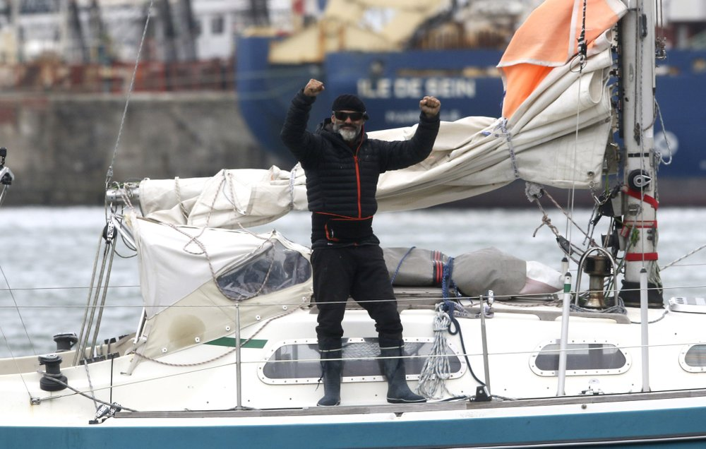 Coronavirus canceled Argentinian man's flight, so he sailed 85 days alone to see his family