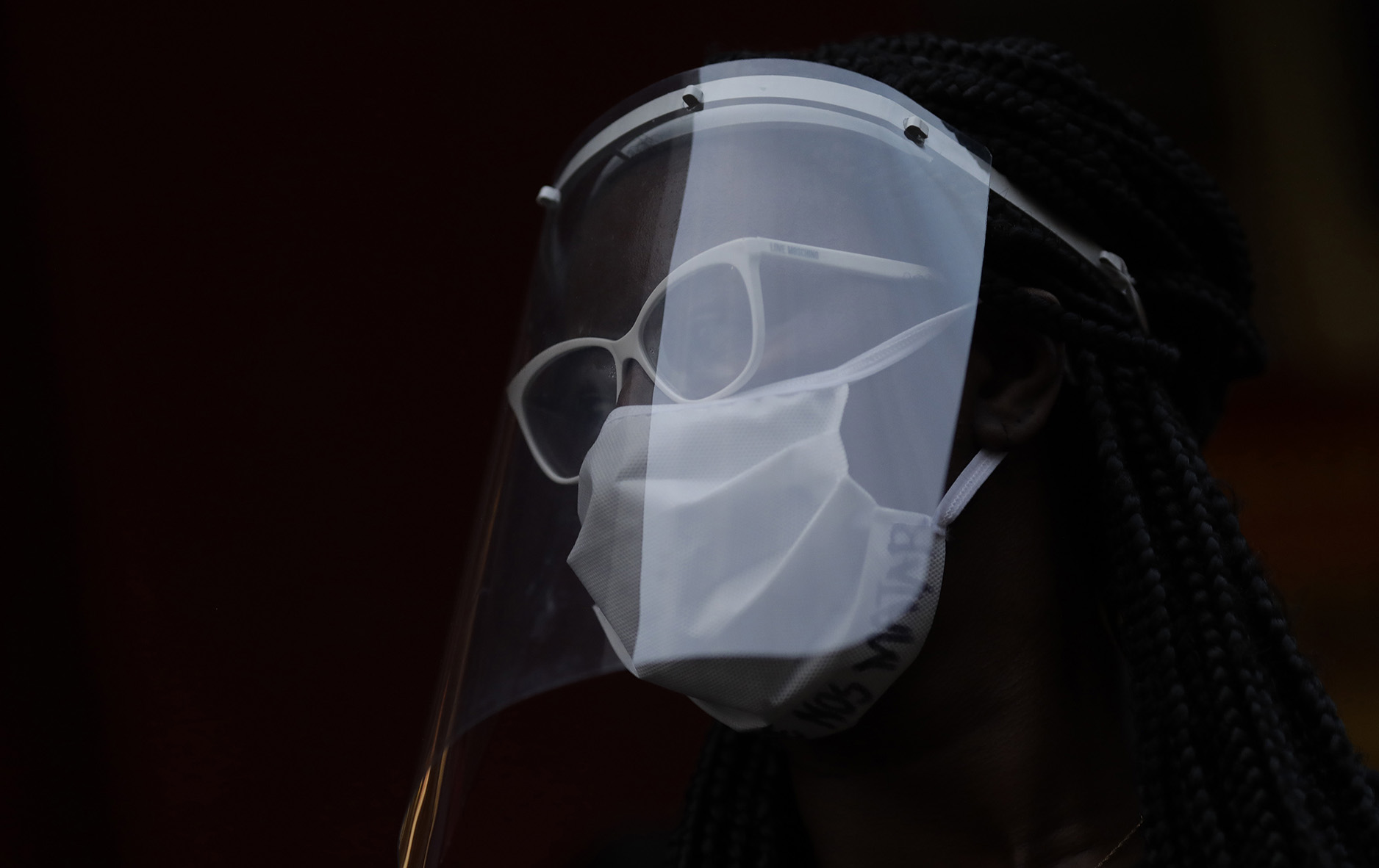Coronavirus: Face shields offer less protection for others than regular masks study finds – Fox News