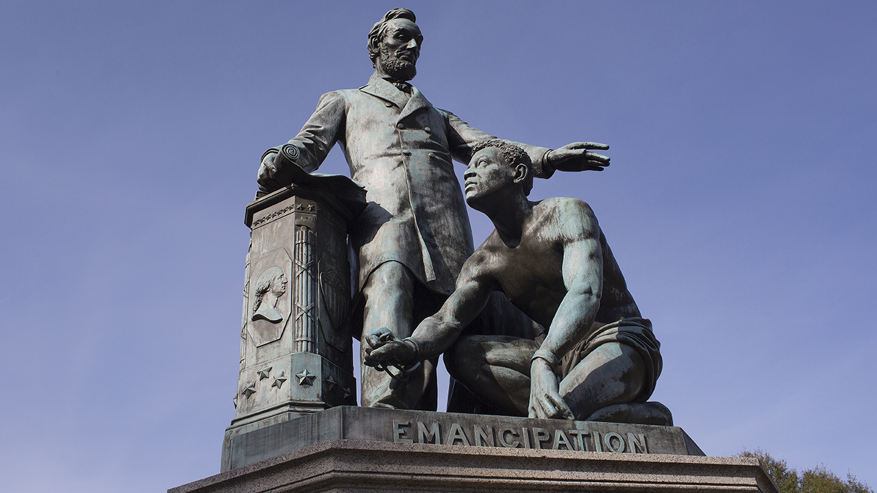 Protesters target Abraham Lincoln statues in Boston and D.C.