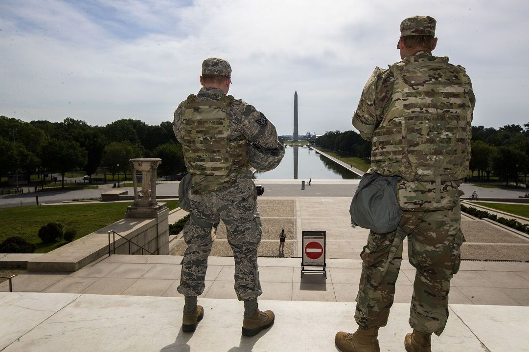 Ohio Gov. DeWine: National Guardsman deployed to DC