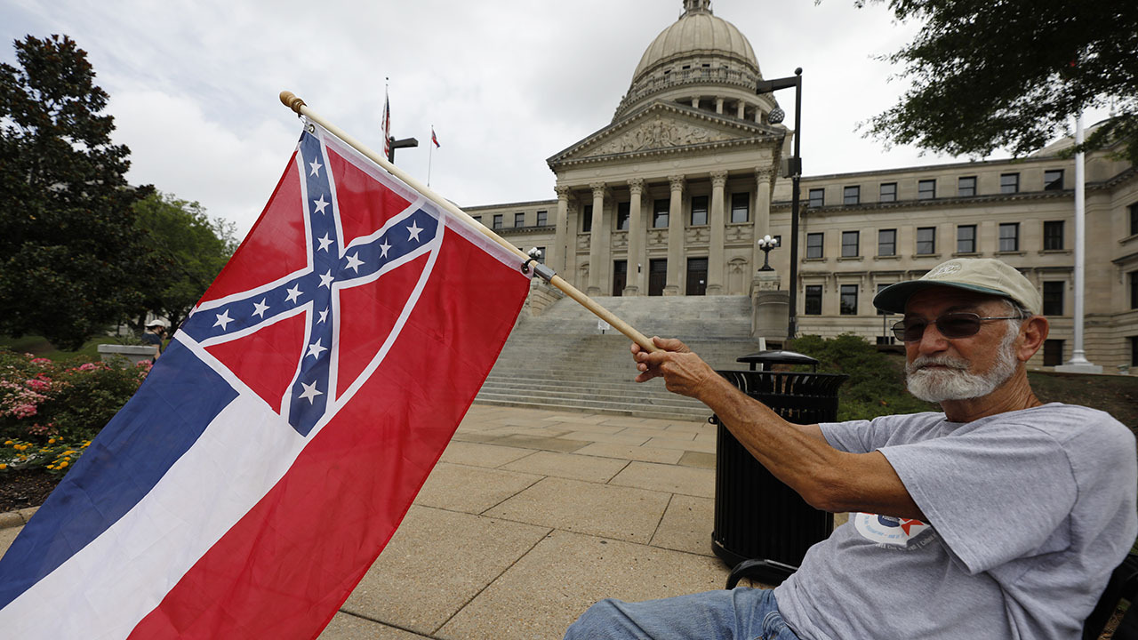 Mississippi nearer to eradicating Confederate battle emblem from state flag - Fox News thumbnail