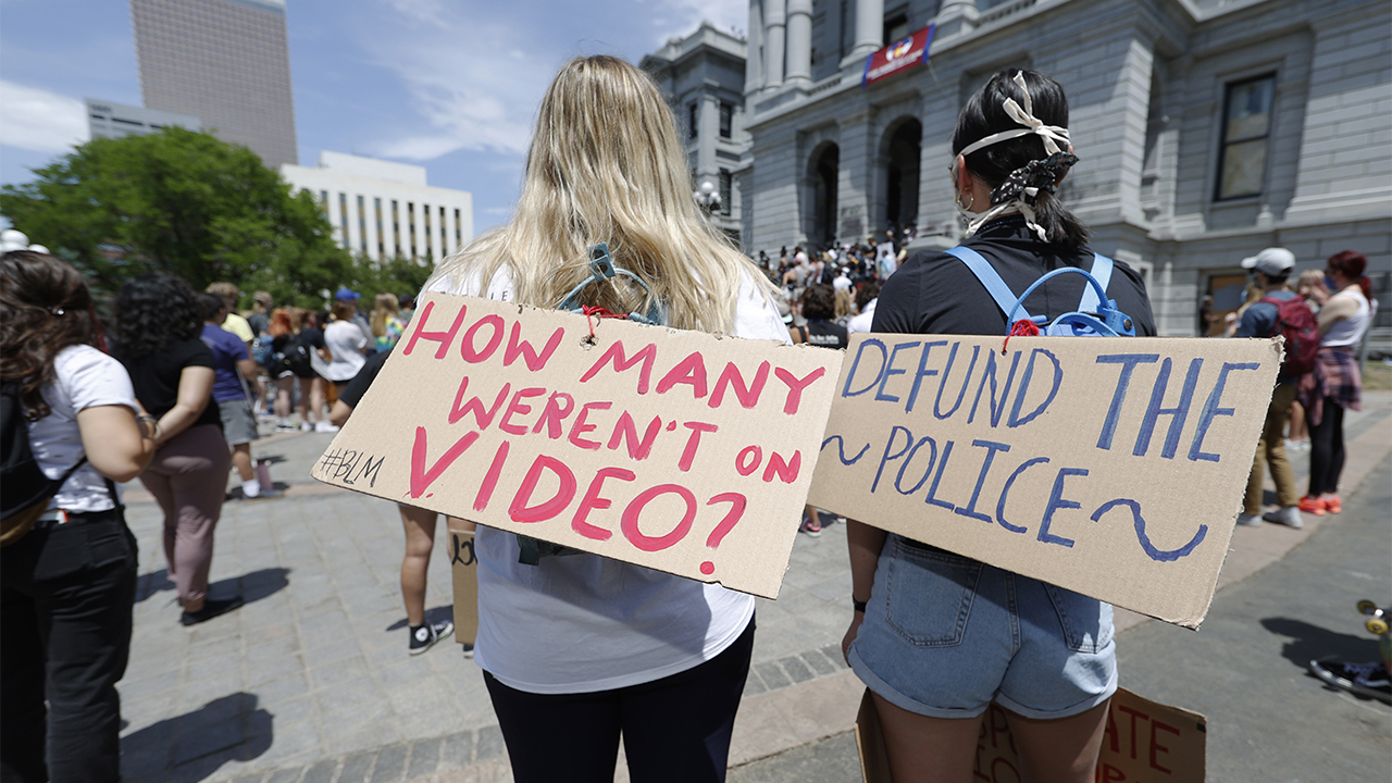 Defund the police 1.'