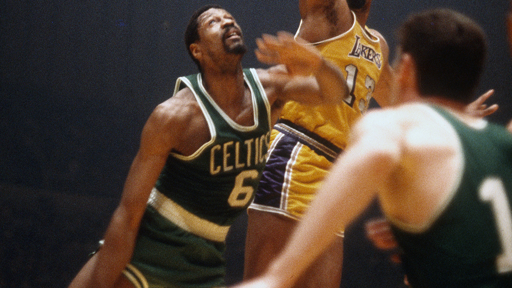 NBA legend Bill Russell recalls racing Wilt Chamberlain across the country