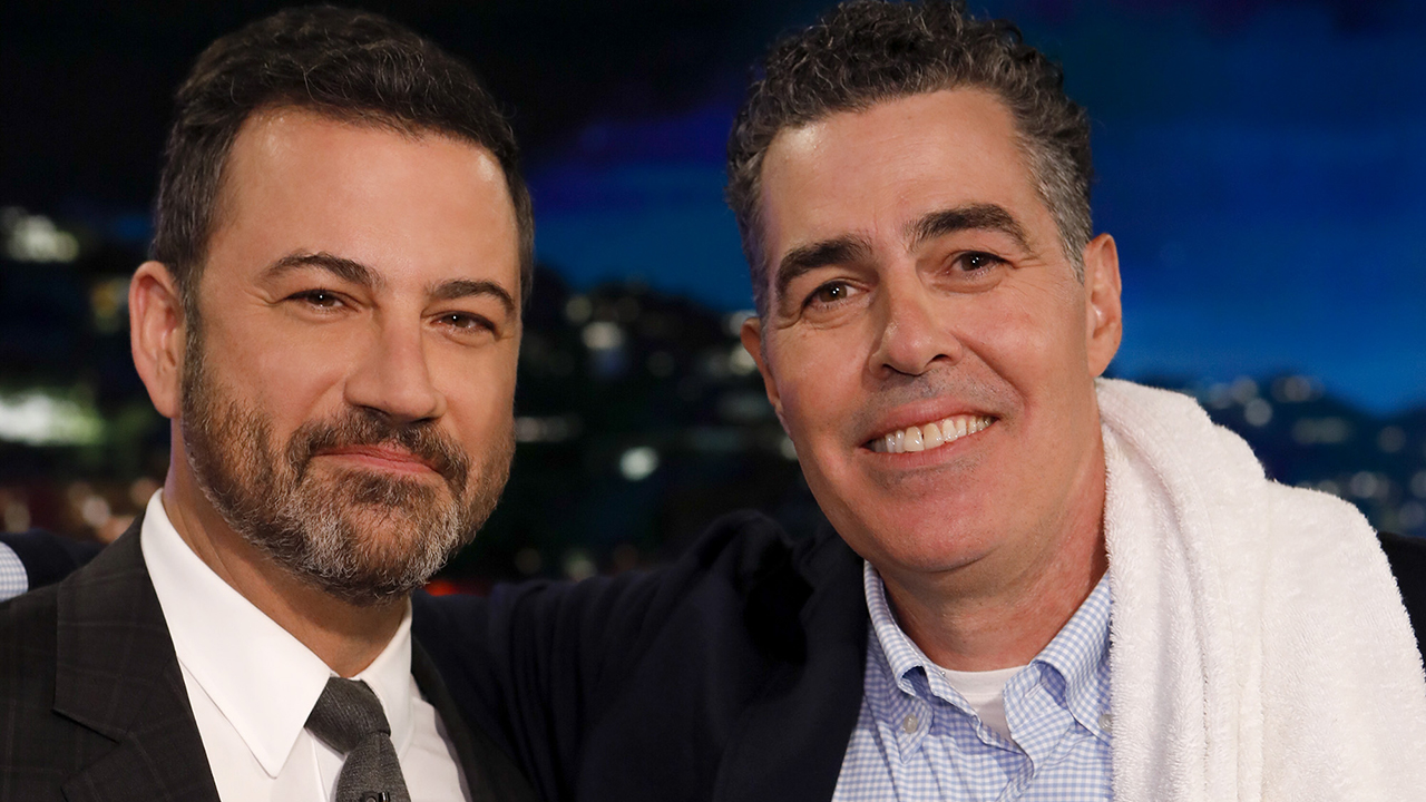 Jimmy Kimmel defended by Adam Carolla amid blackface controversy: He is 'the most decent person' - Fox News