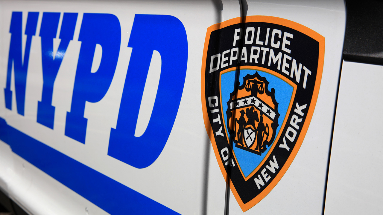 NYPD cops responding to shots fired met with...