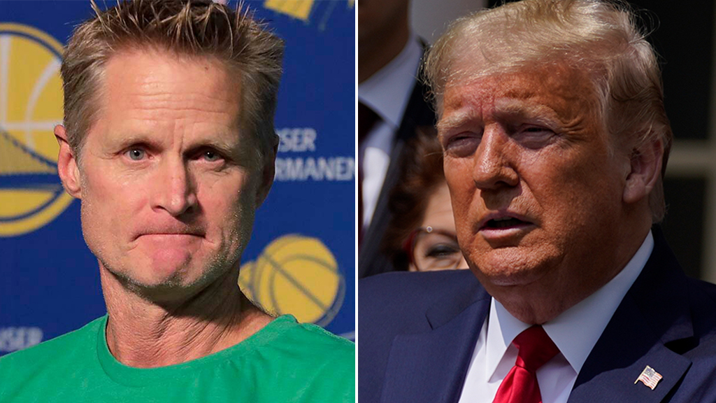 Warriors' Steve Kerr says Trump is 'drawing the battle lines for the election' amid George Floyd protests - Fox News thumbnail