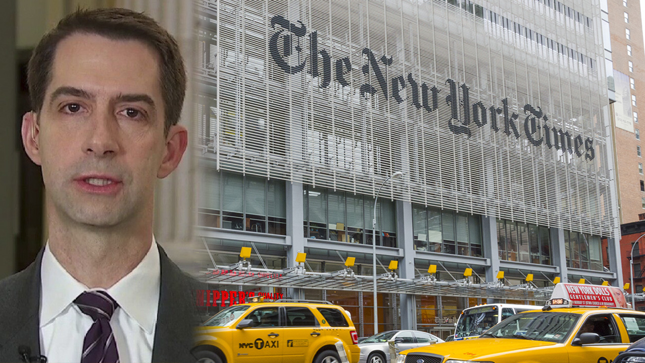 Jonah Goldberg calls out New York Times over 'insane' apology for publishing Cotton op-ed